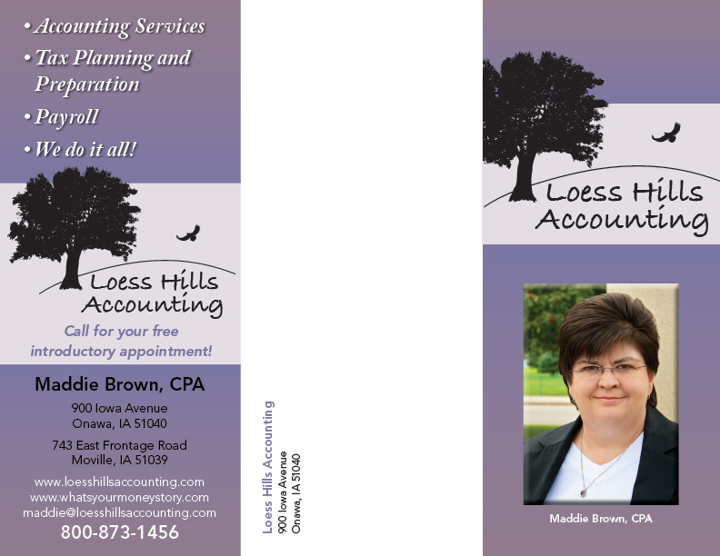 Loess Hills Accounting Brochure